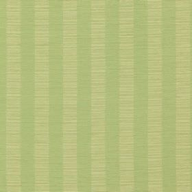 Mirror - Oasis - Cotton & polyester blend fabric made in light shades of cream & green, with horizontal lines patterning vertical stripes