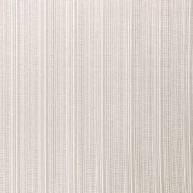 Nightshade - Bone - Thin white and light ash grey coloured lines running down fabric blended from polyester and acrylic polymer
