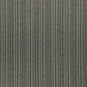 Nightshade - Bison - Thin vertical lines and stripes running down polyester and acrylic polymer blend fabric in various dark shades of grey
