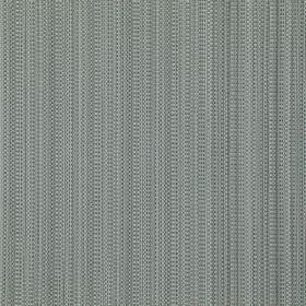 Gloam - Smoke - Thin, dotted vertical lines running down acrylic polymer and polyester blend fabric in various different shades of grey