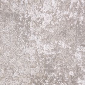 Panther - Ivory - Silvery white coloured 100% polyester fabric with a slightly mottled finish