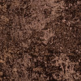 Panther - Brownie - Coppery brown coloured fabric made entirely from polyester with a slightly mottled effect