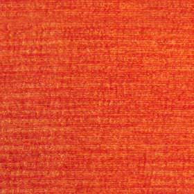 Paris - Mandarin - Patchy, textured, bright orange-red coloured hard wearing fabric