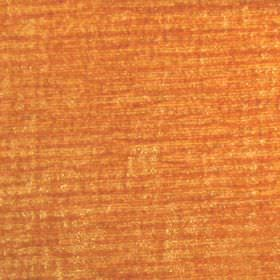 Paris - Marmalade - Hard wearing fabric in patchy pumpkin orange