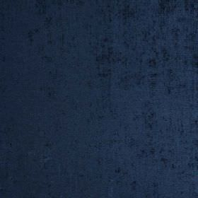 Padan - Orizzonte - Hard wearing fabric made in a navy blue colour, with a velvet effect texture