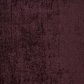 Padan - Notturno - Hard wearing fabric which has a velvet effect texture, in a dark aubergine colour