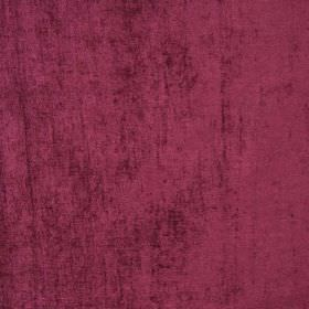 Padan - Amaranto - Velvet effect plum coloured hard wearing fabric