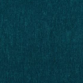 Santa Cruz - Balsam - Dark turquoise coloured hard wearing fabric with no pattern