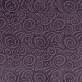 Rumba - Grape - Fabric featuring a modern swirl pattern in two different shades of purple