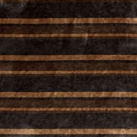 Tango - Cashew - A striped design in different shades of brown running horizontally across this fabric