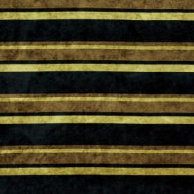 Tango - Boa - Fabric covered in horizontal stripes of different widths in black, brown-green and light green
