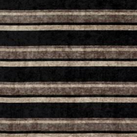Tango - Lark - Light grey-cream, dark grey and black stripes making up this fabric's horizontal stripe pattern