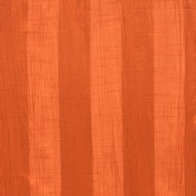 Soho - Mandarin - Fabric made from bright orange and deep orange striped polyester
