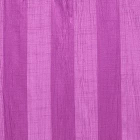 Soho - Lotus - Fabric made from polyester with even stripes running vertically in two different vivid shades of lilac
