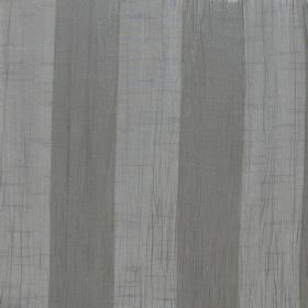Soho - Silver - 100% polyester fabric featuring simple stripes in grey and silver