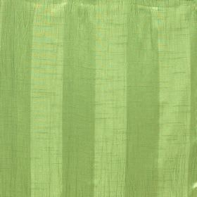 Soho - Olive - Grass green and apple green coloured polyester fabric with a simple design of evenly spaced stripes