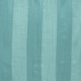 Soho - Mineral - Fabric made from duck egg blue coloured polyester in two different shades, creating a striped pattern
