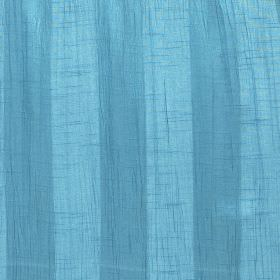 Soho - Sky - Polyester fabric with a simple, regular striped design in light blue and cobalt blue