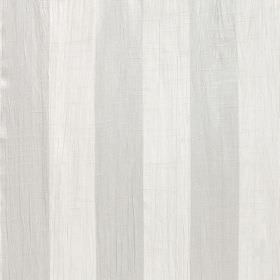 Soho - Sesame - Striped polyester fabric in chalk white and very pale grey