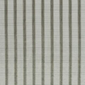 Conquistador - Dalmation - Hard wearing fabric which is ridged, in a pale shade of grey, with a pattern of dark grey stripes at regular inte