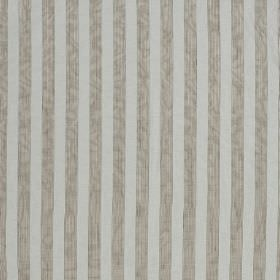 Biltmore - Pelican - Evenly striped hard wearing fabric in two pale shades of grey