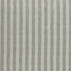 Biltmore - Pewter - Mid and light grey striped hard wearing fabric which contains some horizontal ridges