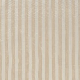 Biltmore - Camel - Caramel and cream coloured striped hard wearing fabric