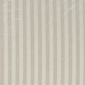 Biltmore - Frost - Hard wearing fabric covered in alternating stripes of beige and cream