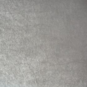 Marco - Grigio - Fabric made from silver coloured polyester with a slight sheen