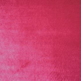 Marco - Rosa - Cerise coloured polyester fabric which has a slight sheen