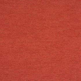 Verona - Strawberry - Plain light red-orange coloured fabric which is hard wearing
