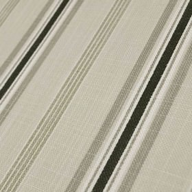 Cavendish - Dove - 100% cotton fabric made with a classy stripe design in white and several different versatile, light shades of grey