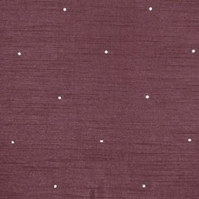 Diamante - Cherry - A sophisticated aubergine purple colour covering fabric made from 100% polyester