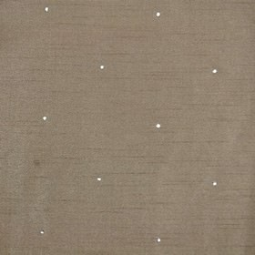 Diamante - Coffee - Practical, versatile, plain fabric made from iron grey coloured 100% polyester