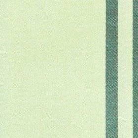 Eden Stripe - Azure - Teal and jade coloured polyester and cotton blend fabric, woven with a simple vertical stripe design