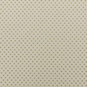 Jakarta - Oatmeal - Polyester and acrylic blend fabric in light grey, with rows of small, closely spaced dots in off-white and grey-beige
