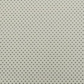 Jakarta - Putty - A small, closely spaced pattern of polka dots arranged on polyester and acrylic blend fabric in three shades of grey