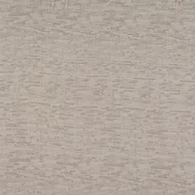 Delta - Natural - A rough, small grid pattern made in three different light shades of grey on fabric made from 100% polyester