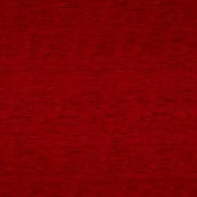 Delta - Rouge - Ruby red coloured 100% polyester fabric, featuring horizontal and vertical streaks in slightly lighter and darker shades