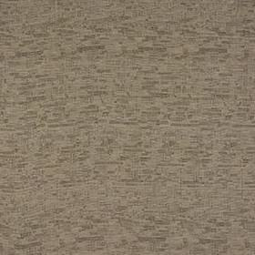 Delta - Taupe - 100% polyester fabric in beige, black and white colours, with a small grid made up of horizontal and vertical streaks