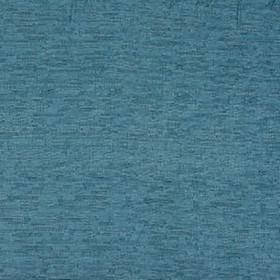 Delta - Teal - Pale and marine shades of blue making up a rough, streaky grid pattern on cobalt blue fabric made from 100% polyester