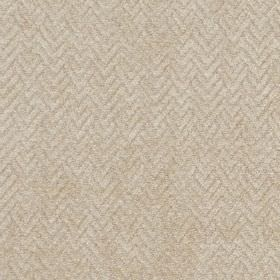 Reno - Natural - Very subtle zigzags and chevrons made in a parchment colour, covering fabric made from viscose and polyester