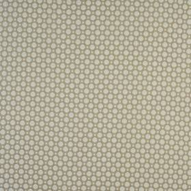 Honeycomb - Stone - Fabric made from cotton & polyester with a simple geometric design of squares & octagons in two different shades of grey