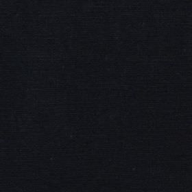 Panama - Noir - Solid jet black coloured fabric made from 100% cotton