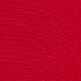 Panama - Rosso - A rich scarlet red coloured fabric made from 100% cotton