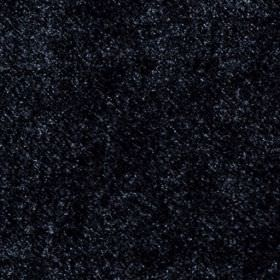 Velvet - Midnight - Black fabric made from 100% polyester, featuring a subtle finish of speckles in a slightly lighter colour