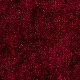 Velvet - Rosso - Black speckles and mottling caused by a soft textured finish on fabric made from 100% polyester in a rich cherry colour