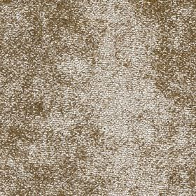 Velvet - Soft Gold - Light brown and pale grey colours made into a textured, mottled, speckled fabric made from 100% polyester