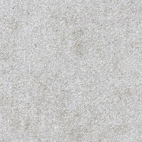 Velvet - White - 100% polyester fabric covered with tiny, subtle speckles in white and very light grey