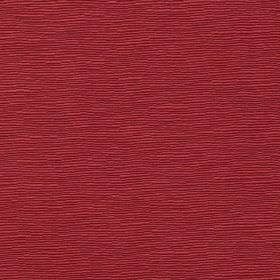 Canterbury - Rosso - Scarlet coloured cotton and polyester blend fabric finished with a very small, subtle streaked effect